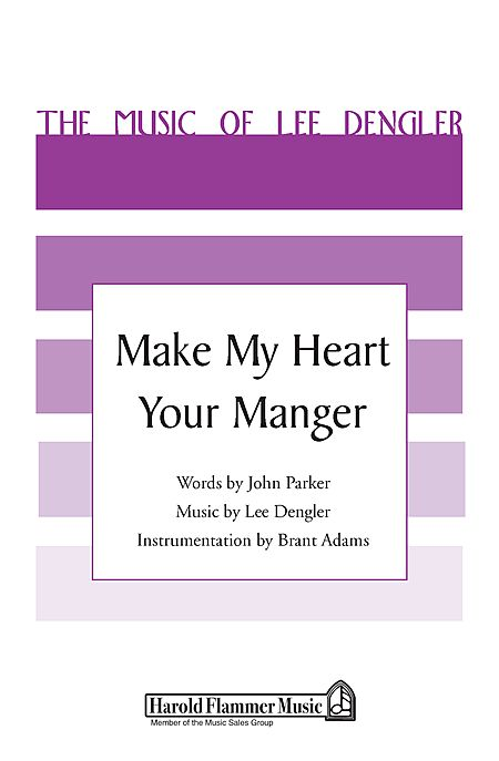 Make My Heart Your Manger