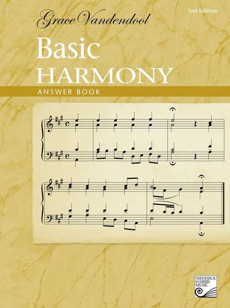 Basic Harmony Answer Book