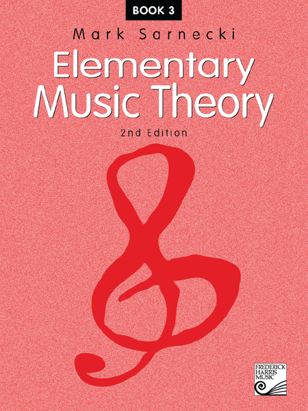 Elementary Music Theory: Book 3