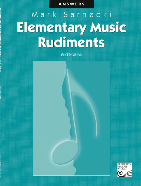 Elementary Music Rudiments: Answer Book
