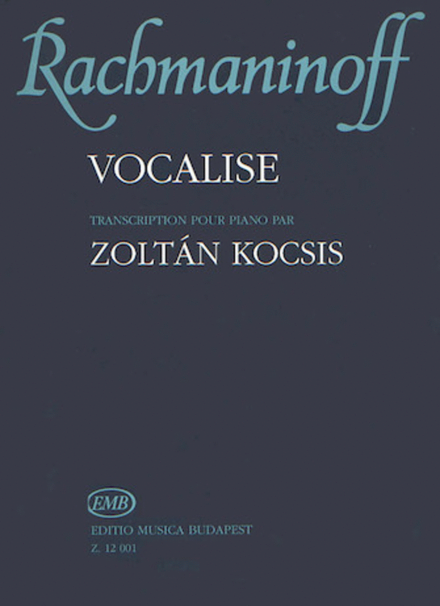 Vocalise Op.34, No. 14