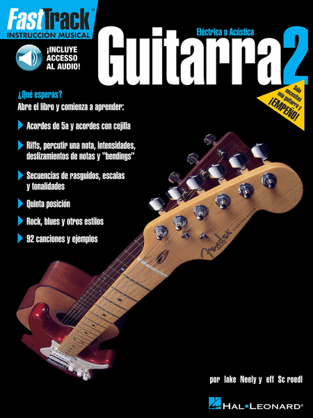 FastTrack Guitar Method - Spanish Edition - Book 2
