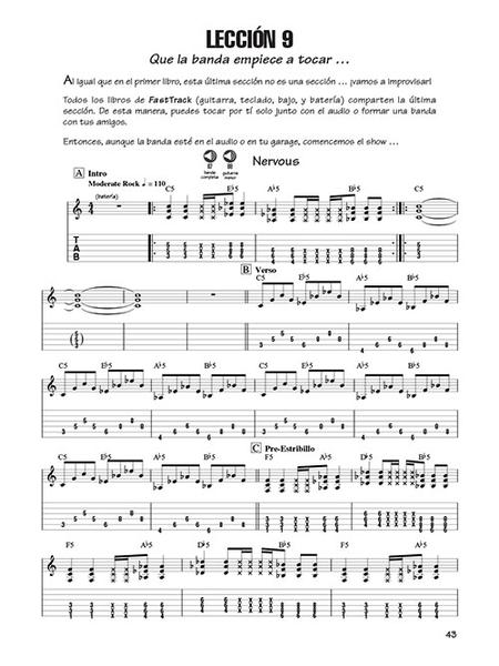 FastTrack Guitar Method - Spanish Edition - Book 2