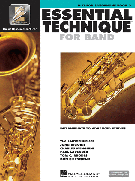 Essential Technique for Band with EEi - Intermediate to Advanced Studies