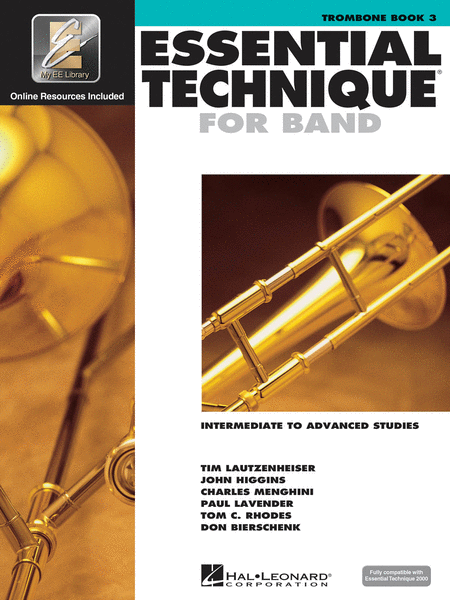 Essential Technique for Band - Intermediate to Advanced Studies (Trombone)