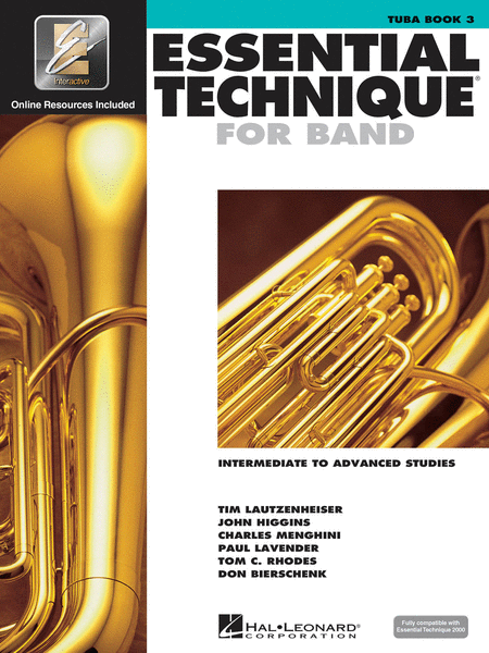 Essential Technique for Band - Intermediate to Advanced Studies (Tuba BC)