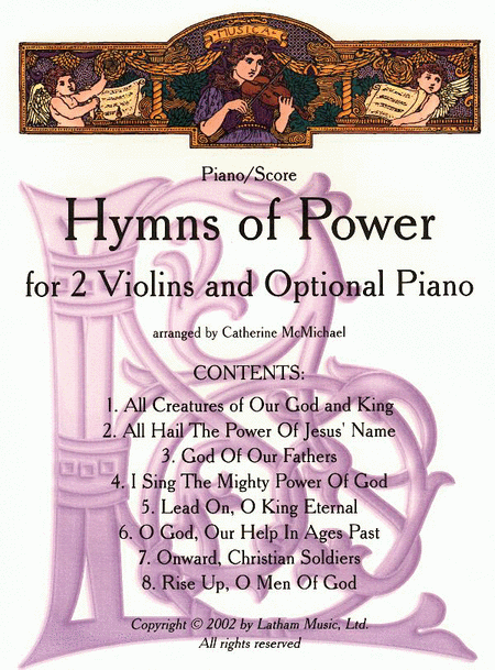 Hymns of Power for 2 Violins and Piano