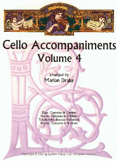 Cello Accompaniments - Volume 4