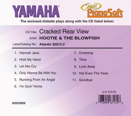 Hootie & The Blowfish - Cracked Rear View - Piano Software