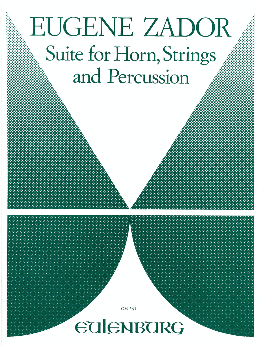 Suite for Horn, Percussion and String Orchestra