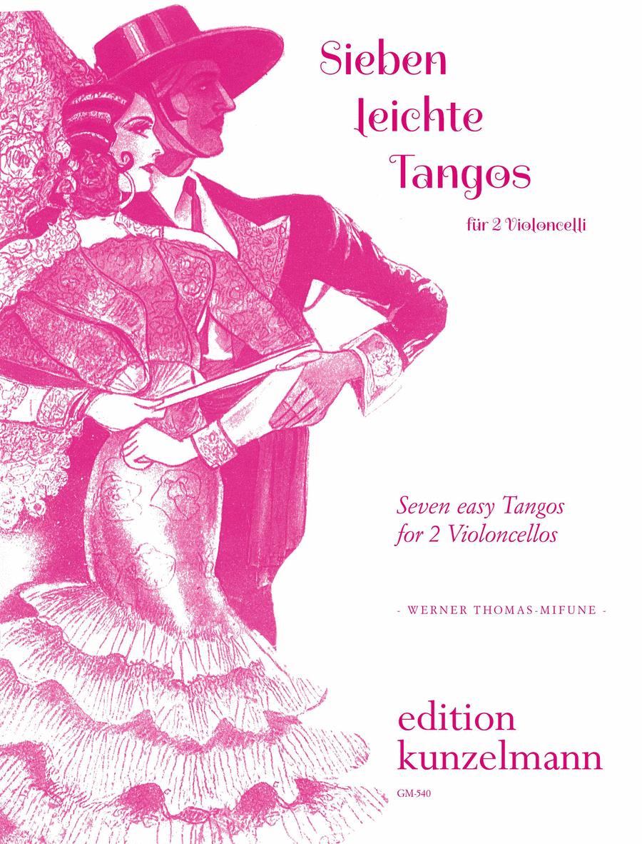Seven Easy Tangos for Two Cellos