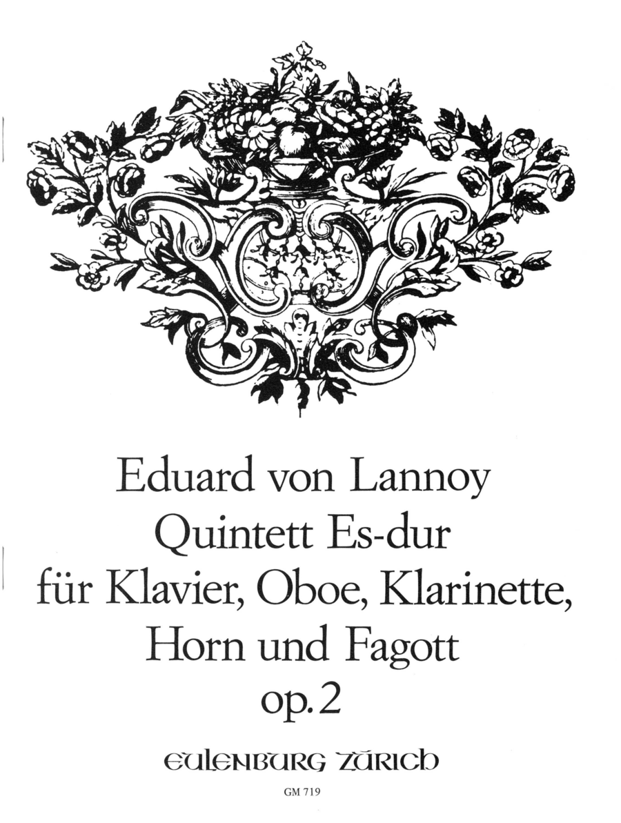 Quintet for Piano and Winds in Eb Major, Op. 2