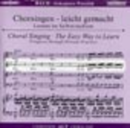 St. John Passion - Choral Singing CD (Alto)