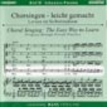 St. John Passion - Choral Singing CD (Bass)