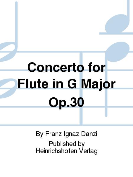 Concerto for Flute in G Major Op. 30