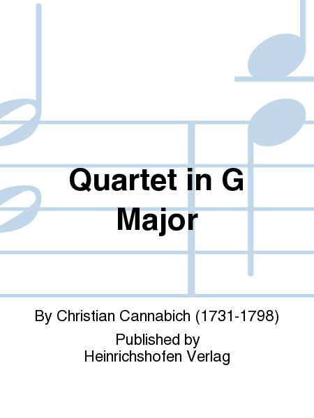 Quartet in G Major