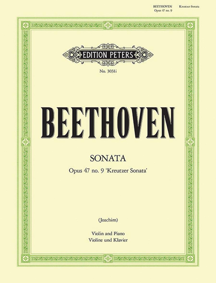 Sonata in A Op. 47 'Kreutzer'