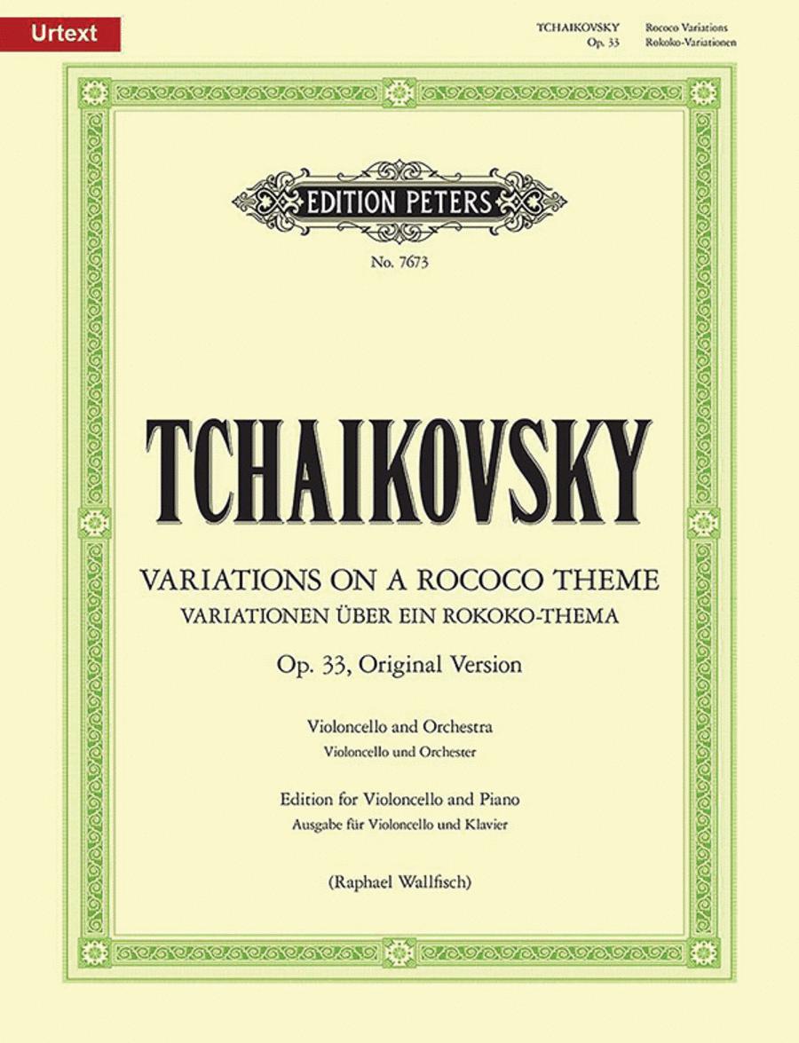 Variations on a Rococo Theme (orginal version)