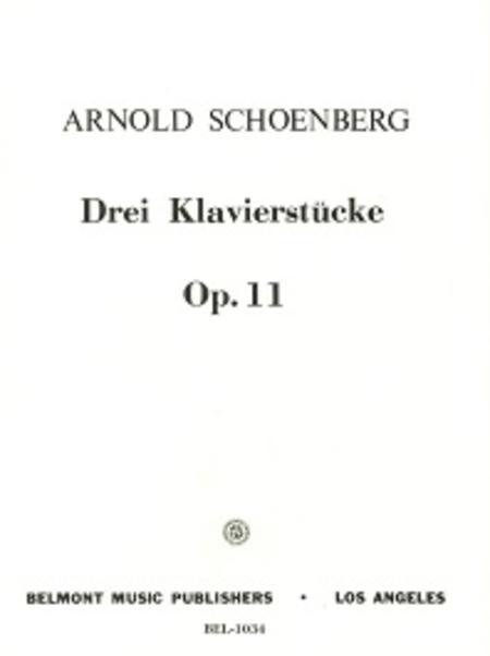 Three Piano Pieces, Op. 11