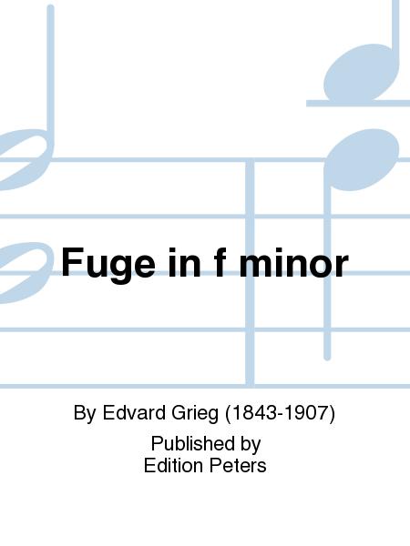 Fuge in F minor