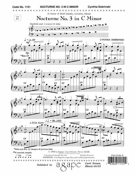 Nocturne No. 3 In C Minor