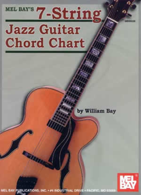 7-String Jazz Guitar Chord Chart