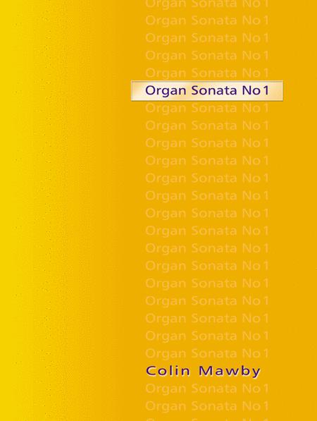 Organ Sonata No 1