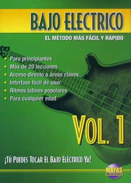 Bajo Electrico Vol. 1, Spanish Only