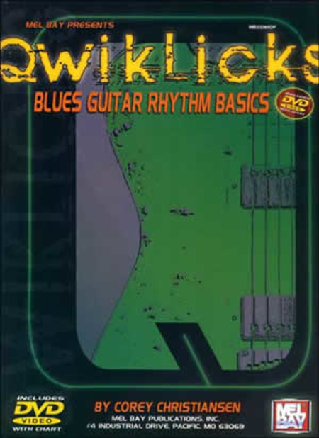 QwikLicks: Blues Guitar Rhythm Basics