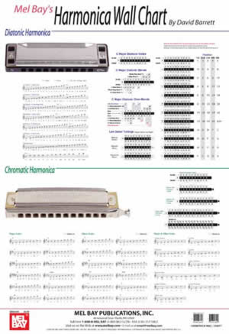 Harmonica Wall Chart