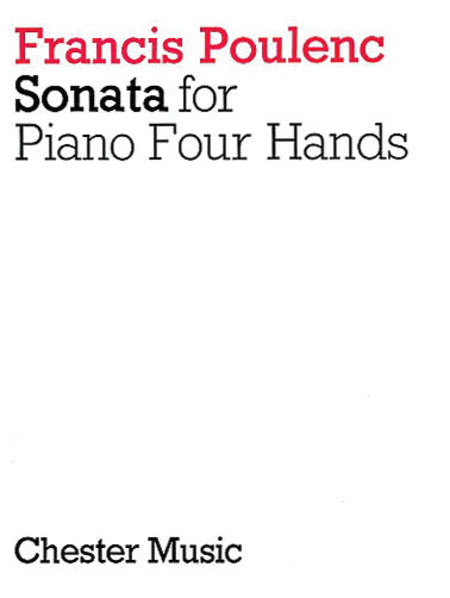 Sonata for Piano 4 Hands