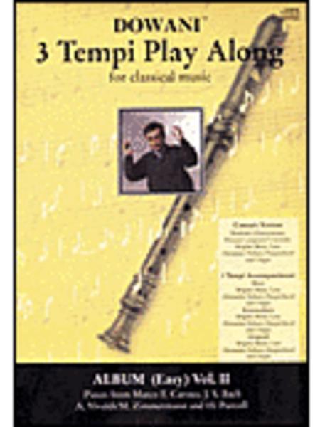 Album Volume 2 (Easy) for Descant (Soprano) Recorder and Basso Continuo