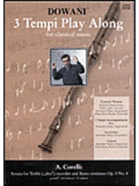 Corelli - Sonata in G Minor Op. 5 No. 8 for Treble (Alto) Recorder and Basso Continuo