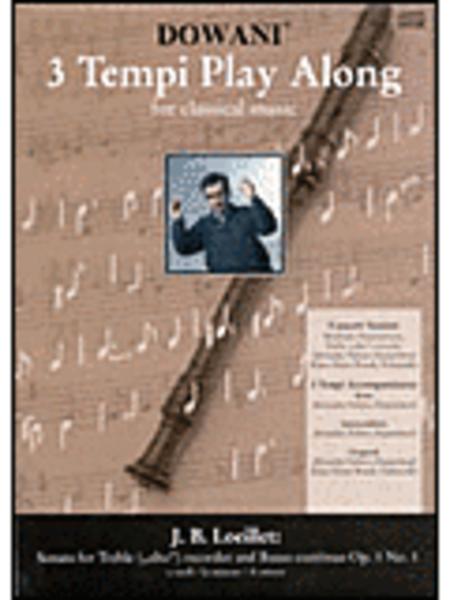 Loeillet - Sonata in A Minor Op. 1 No. 1 for Treble (Alto) Recorder and Basso Continuo