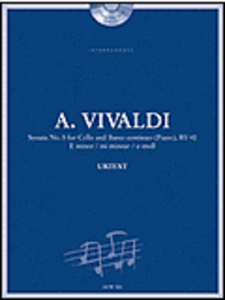 Vivaldi: Sonata No. 5 for Cello and Basso Continuo (Piano) in E Minor,  RV 40