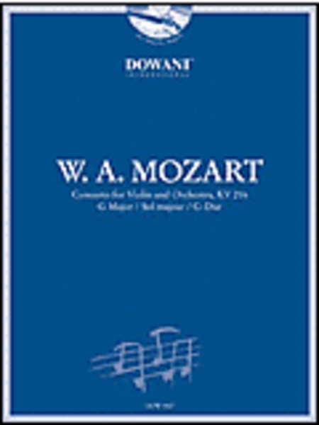 Mozart: Concerto for Violin and Orchestra KV 216 in G Major