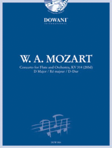 Mozart: Concerto for Flute and Orchestra in D Major, KV 314 (285D)