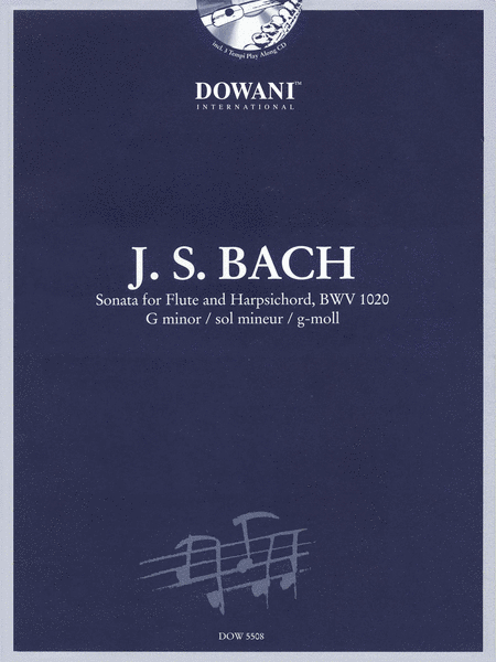 Sonata for Flute and Harpsichord in G Minor, BWV 1020