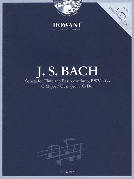 Bach: Sonata for Flute and Basso Continuo in C Major, BWV 1033
