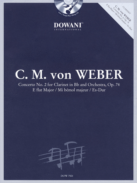 C.M. von Weber - Concerto No. 2, Op. 74 in Eb Major