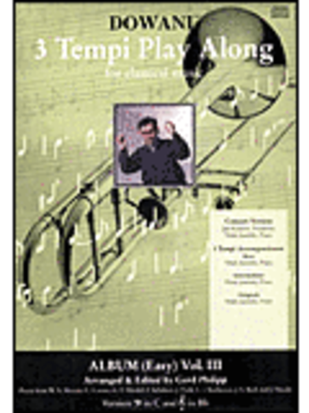 Album Vol. III (easy) For Trombone And Piano