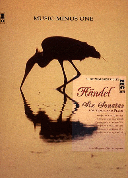 HANDEL: Six Sonatas for Violin and Piano