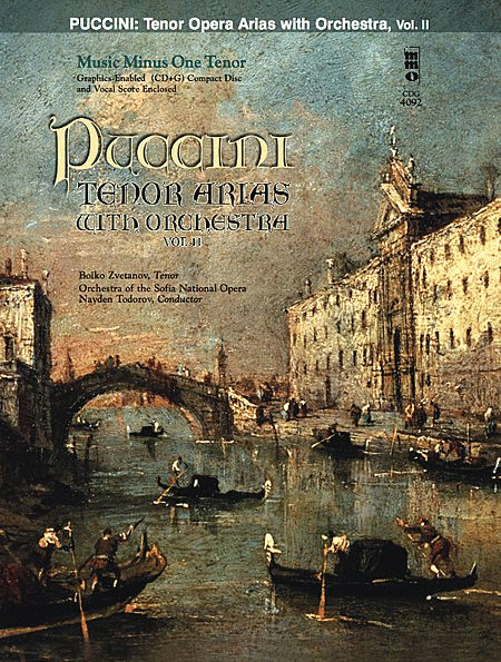 PUCCINI: Arias for Tenor and Orchestra, Vol. II