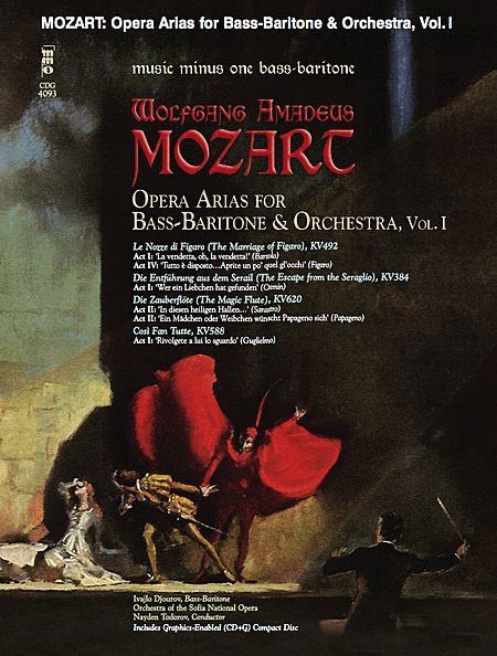 Mozart Opera Arias for Bass Baritone and Orchestra - Vol. I