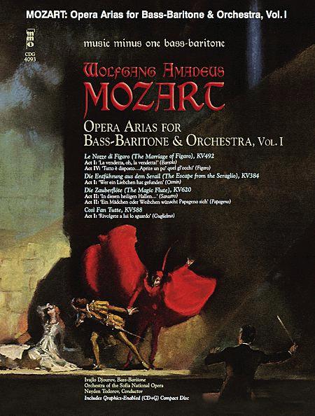 MOZART: Opera Arias for Bass-Baritone with Orchestra, Vol. I
