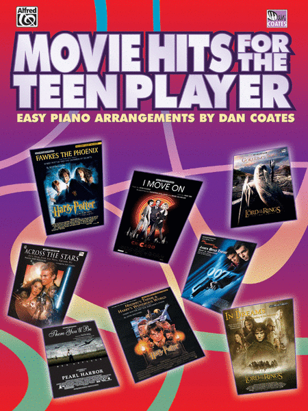 Movie Hits For The Teen Player - Easy Piano