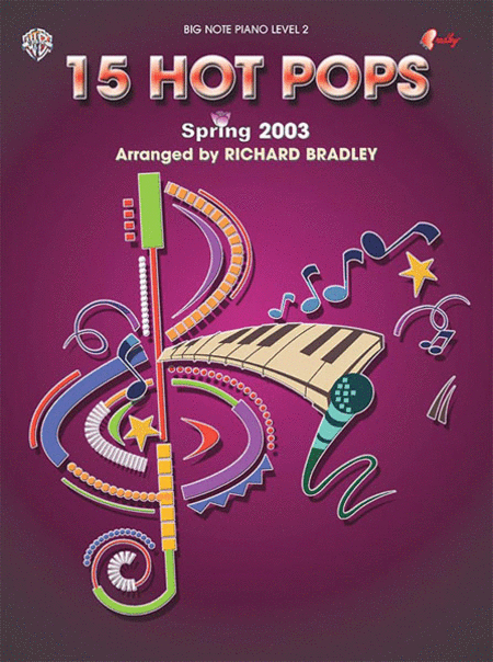 15 Hot Pops - Spring 2003 - Big Note Piano