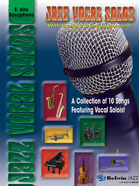 Jazz Vocal Solos With Combo Accompaniment E-flat Alto Sax
