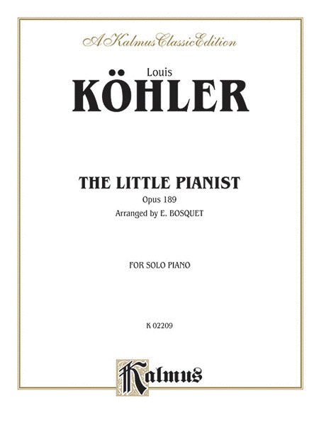 The Little Pianist Op. 189