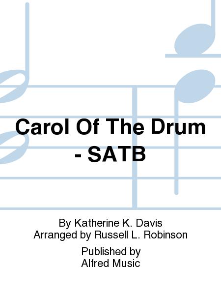 Carol Of The Drum - SATB